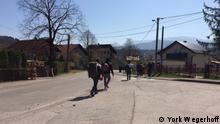 Migranten in Bosnien