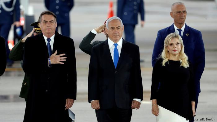 Jair Bolsonaro in Israel (Reuters/R. Zvulun)