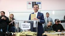 Kommunalwahlen in der Türkei Ekrem Imamoglu von der RPP