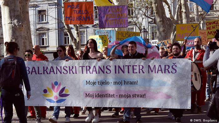 Transgender Protest in Zagreb