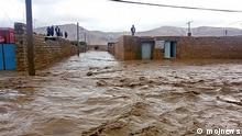 Überschwemmung in Lorestan, Iran