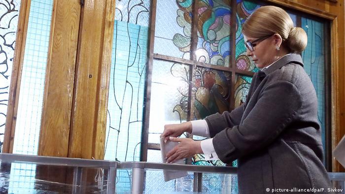 Timoshenko, infatigable, por tercera vez candidata presidencial.