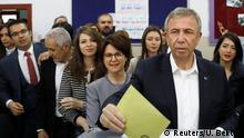 Wahlen Türkei Mansur Yavas