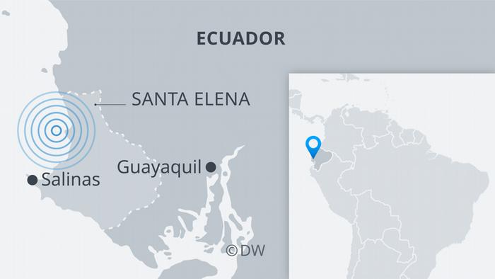 Infografik Karte Erdbeben Ecuador ES
