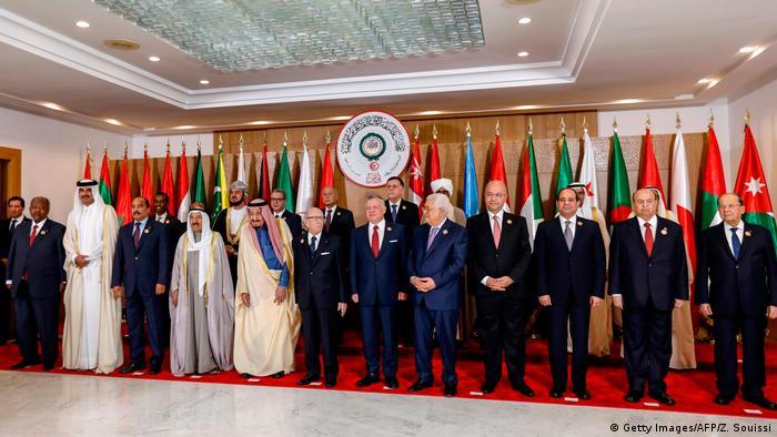 شرکتکنندگان اجلاس اتحادیه عرب در تونس