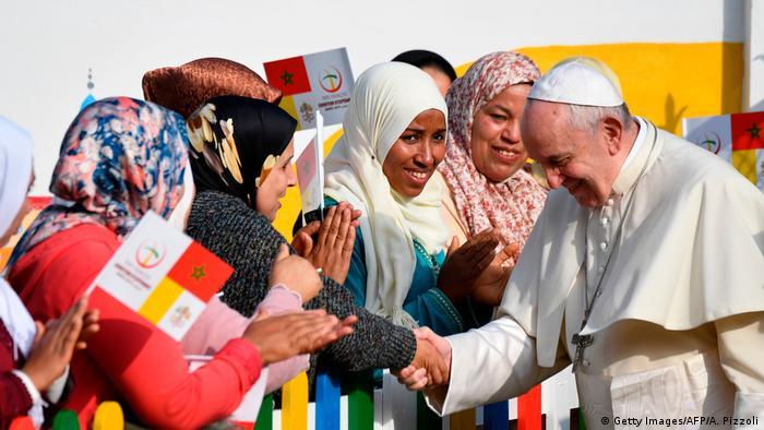 Marokko | Papst Franziskus in Rabat