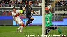 Bundesliga 27. Spieltag | Eintracht Frankfurt vs. VfB Stuttgart | TOR Frankfurt