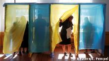 Ukraine Präsidentschaftswahl 2019 | Wahllokal in Kosmach