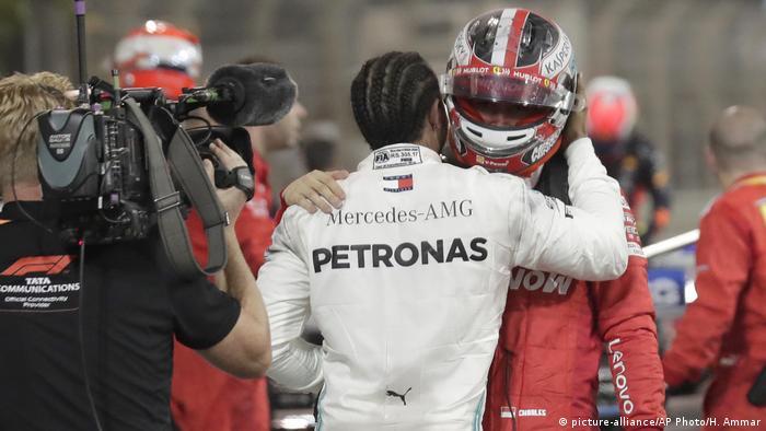 Formel 1 Großer Preis von Bahrain 2019   Hamilton & Leclerc