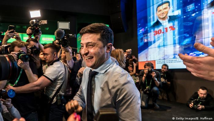 Ukraine Präsidentschaftswahl 2019 | Wolodymyr Selenskyj, Kandidat (Getty Images/B. Hoffman)