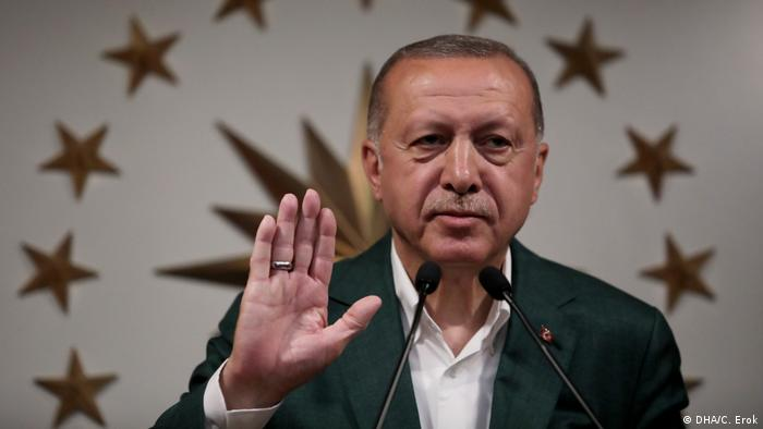 Türkei Kommunalwahlen Recep Tayip Erdogan Rede in Istanbul