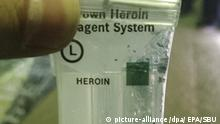 Symbolbild: Heroin - Heroinfund