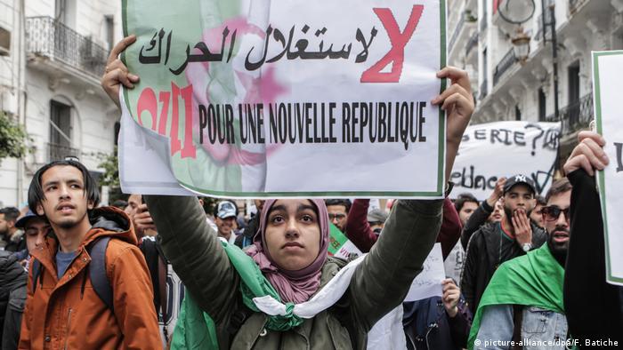 За новую республику - требование алжирских протестующих