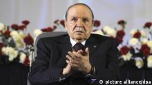 Algerien, Algier: Algerisches Militär fordert Absetzung von Präsident Bouteflika