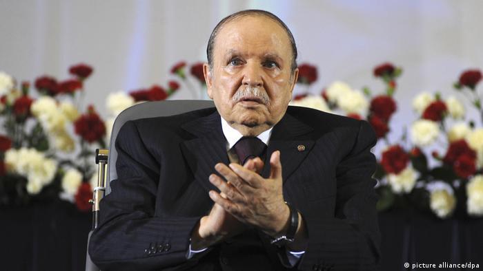 Президент Алжира Абдельазиз Бутефлика (фото из архива)