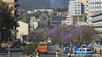 Gambia Street in Addis Abeba, Äthiopien