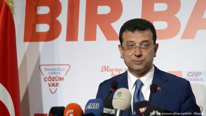 Ekrem Imamoglu said it was very clear the opposition won in Istanbul