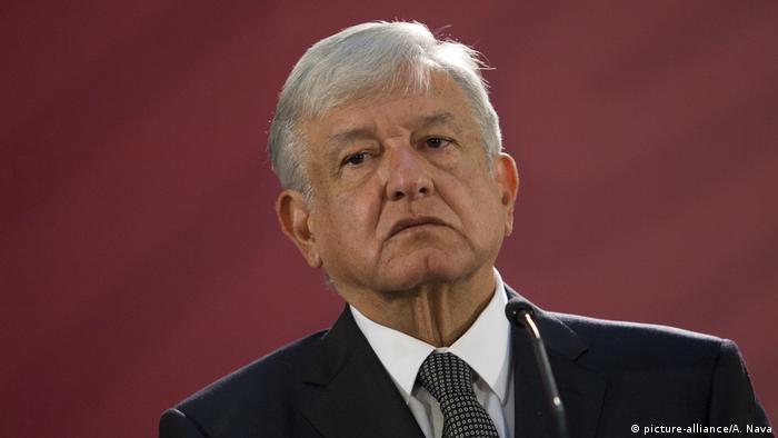 Mexikos Präsident Andres Manuel Lopez Obrador: Einen Kriminellen zu fassen, kann nicht mehr wert sein als die Leben der Menschen (Foto: picture-alliance/A. Nava)