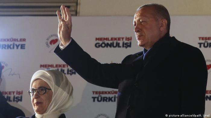 Türkei: Ankara: Recep Tayyip Erdogan