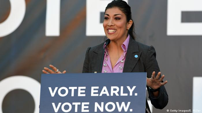 USA: Lucy Flores