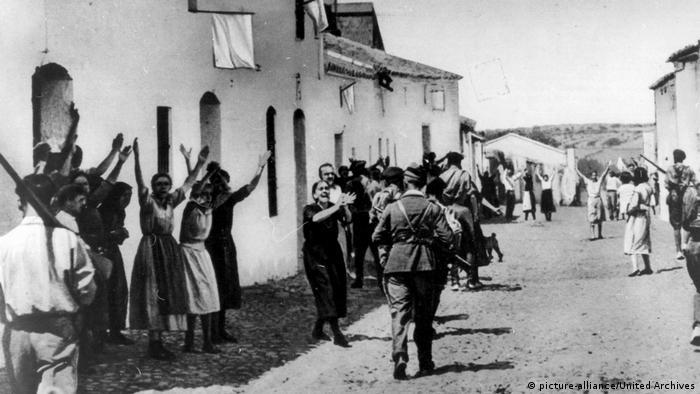 Гражданская война в Испании, август 1936 года