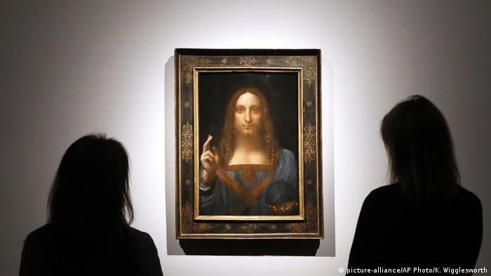 Gemälde Salvator Mundi von Leonardo (picture-alliance/AP Photo/K. Wigglesworth)