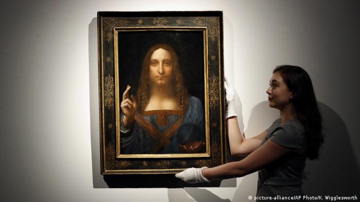 Gemälde Salvator Mundi von Leonardo