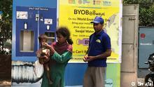 Indien ATM-Wasserstelle