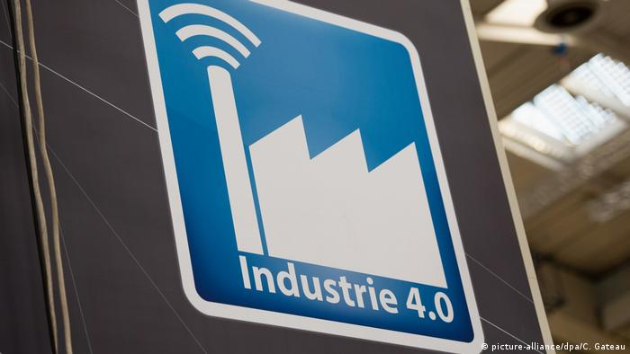 Hannover Industriemesse 2019 Aufbau (picture-alliance/dpa/C. Gateau)