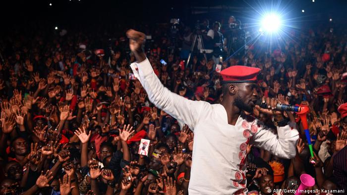 Robert Kyagulanyi/Bobi Wine (AFP/Getty Images/I. Kasamani)