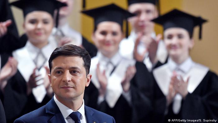 Volodymyr Zelensky (AFP/Getty Images/S. Supinsky)