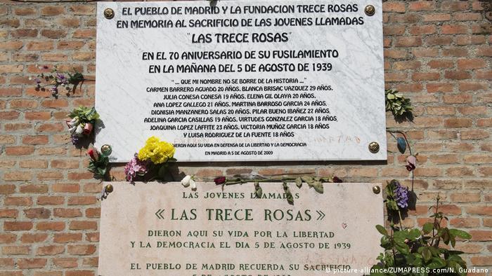 75 Jahre Spanischer Bürgerkrieg (picture-alliance/ZUMAPRESS.com/N. Guadano)