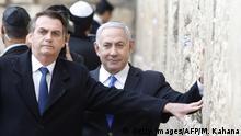 Israel Klagemauer Jerusalem | Netanjahu & Bolsonaro, Präsident Brasilien