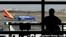 USA New York Flughafen LaGuardia   Southwest Airlines