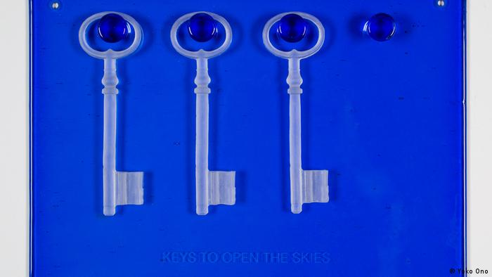 Keys to open the skies, de Yoko Ono