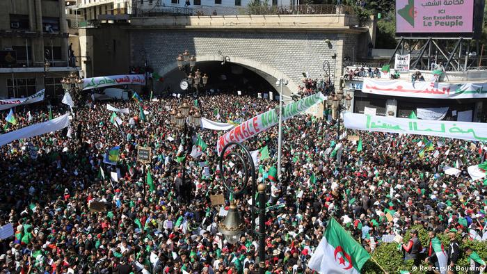 There have been huge, weekly protests across Algeria calling for Bouteflika to go