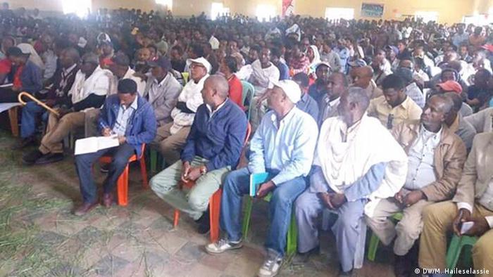 Äthiopien Mekele-Bauern und Studenten reichen Beschwerden ein