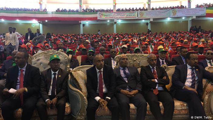 Äthiopien Somali-Region-Partei & gegenerische Parteien in Jigjiga