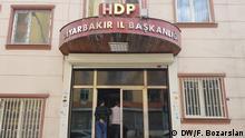 Türkei Kommunalwahl 2019 | HDP-Partei in Diyarbakir | Parteisitz