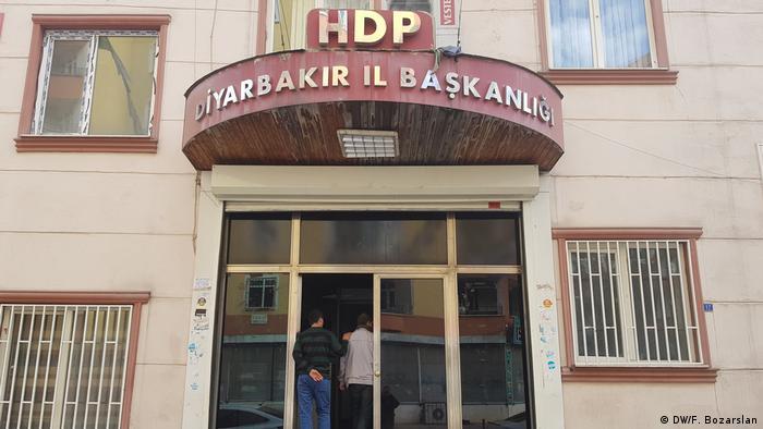 دفتر مرکزی حزب دموکراتیک خلقها در دیاربکر
