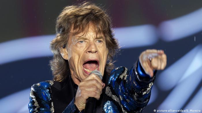Brasilien Mick Jagger in Sao Paulo (picture-alliance/dpa/S. Moreira)
