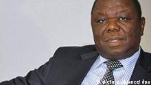 Zimbabwe Primer Minister Morgan Tsvangirai poses for the photographer during an interview prior receiving the Cristobal Gabarron Foundation Award by his Humanitarian development in Valladolid, Castilla y Leon, Spain, 09 October 2009. EPA/RICARDO SUAREZ +++(c) dpa - Report+++