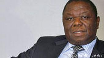 Zimbabwe Primer Minister Morgan Tsvangirai EPA/RICARDO SUAREZ +++(c) dpa - Report+++
