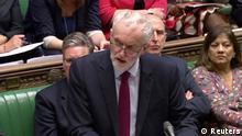 Großbritannien London Jeremy Corbyn im Unterhaus