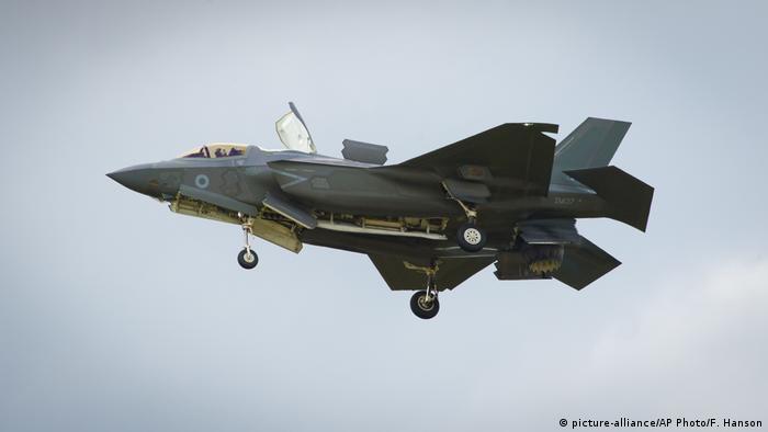 F-35 fighter jet (picture-alliance/AP Photo/F. Hanson)