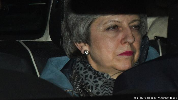 Theresa May (picture-alliance/PA Wire/V. Jones)