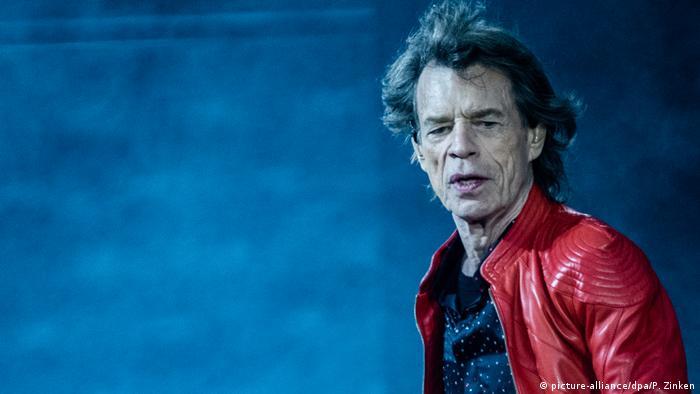 Мік Джаггер, фронтмен Rolling Stones