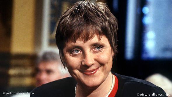 Ангела Меркель - министр по делам женщин и молодежи (1992 год)