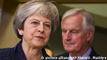 Theresa May, Michel Barnier