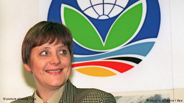 Portrait of Angela Merkel in 1995 (Photo: picture alliance)